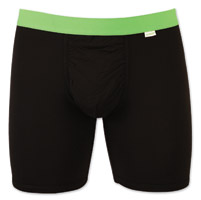 My Pakage Men's Black/Green Weekday Underwear