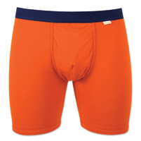 My Pakage Men's Orange/Navy Weekday Underwear