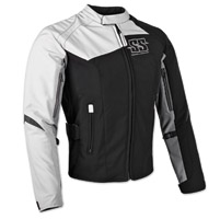Speed and Strength Women's Back Lash Black/White Textile Jacket