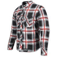 Speed and Strength Men's Rust and Redemption Black/Red Moto Jacket
