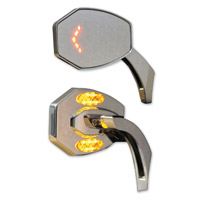 Muth Chrome Merge Master Signal Mirrors