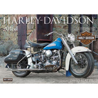 Motorbooks International 2016 Harley-Davidson Wall Calendar