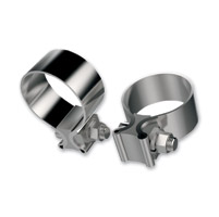 Khrome Werks Stainless Steel Muffler Clamps