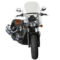 National Cycle Clear 18-1/2″ Spartan Windshield