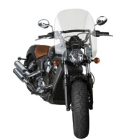 National Cycle Clear 16-1/4″ Spartan Windshield