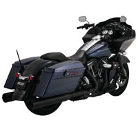 Vance & Hines Power Duals Exhaust Black