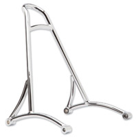 Burly Brand Chrome Short Sissy Bar