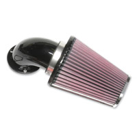 Low and Mean Black Air Intake System