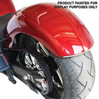 Low and Mean Smooth Rear Fender with LED Lights