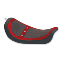 Mustang Revere Red Metal Flake Runner Vent Solo Seat