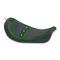 Mustang Revere Green Metal Flake Runner Vent Solo Seat