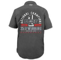 Vance & Hines Men's Anniversary Charcoal Work Shirt