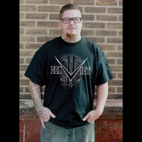 Convict Customz Men's Evidence Black T-Shirt