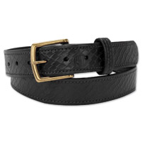 Roland Sands Design Debo Embossed Black Belt