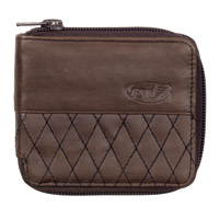 Roland Sands Design Crenshaw Tobacco Wallet