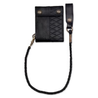 Roland Sands Design Riverside Black Wallet