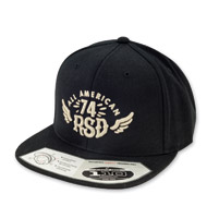Roland Sands Design All American Flexfit Black Cap