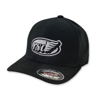 Roland Sands Design East Coast Cafe Wing Black Cap