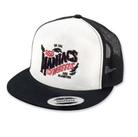 Roland Sands Design Maniacs Black/White Trucker Cap