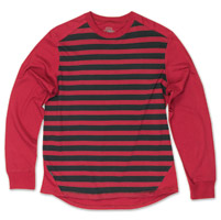 Roland Sands Design Men's County Oxblood/Black Long Sleeve T-Shirt
