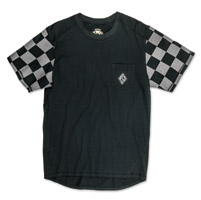 Roland Sands Design Men's Hangtown Reflective Black/Gray T-Shirt