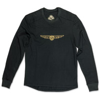 Roland Sands Design Men's Brody Black Long Sleeve T-Shirt