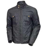 Roland Sands Design Men's Kent Black Textile Jacket