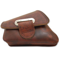 LaRosa Design Slim Line Brown Swingarm Bag