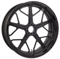 Roland Sands Design Hutch Black Ops Non-ABS Front Wheel, 21″ x 3.5″