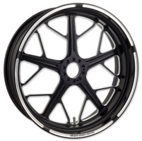 Roland Sands Design Hutch Contrast Cut ABS Front Wheel, 23″ x 3.5″