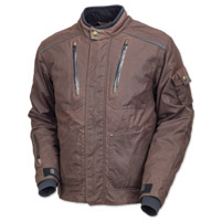 Roland Sands Design Men's Edwards Textile Brown Jacket