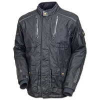 Roland Sands Design Men's Houston Textile Black Jacket