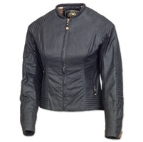 Roland Sands Design Women's Jett Textile Black Jacket