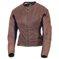 Roland Sands Design Women's Jett Textile Latte Jacket