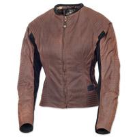 Roland Sands Design Women's Jett Textile Latte Jacket