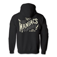Roland Sands Design Men's Maniacs Black Full Zip Hoodie