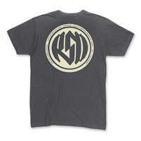 Roland Sands Design Men's Identity Charcoal T-Shirt