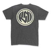 Roland Sands Design Men's Identity Charcoal T-Shirt