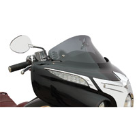Klock Werks 10″ Dark Smoke Flare Windshield