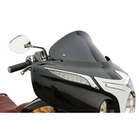 Klock Werks 10″ Black Flare Windshield