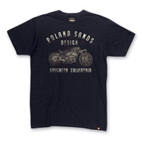 Roland Sands Design Men's Indian Shop Black T-Shirt