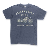 Roland Sands Design Men's Indian Shop Indigo T-Shirt