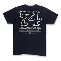 Roland Sands Design Men's Seventy Four Black T-Shirt