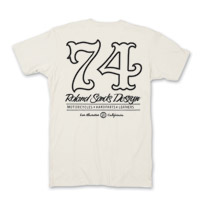 Roland Sands Design Men's Seventy Four Vintage White T-Shirt