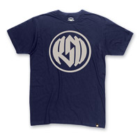 Roland Sands Design Men's Logo Navy T-Shirt
