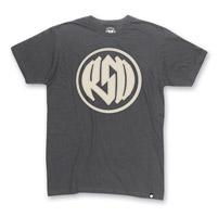 Roland Sands Design Men's Logo Charcoal T-Shirt