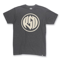 Roland Sands Design Men's Logo Charcoal T-Shirt