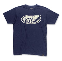 Roland Sands Design Men's Cafe Wing Navy T-Shirt