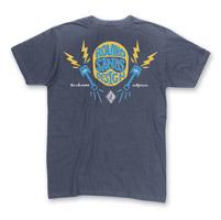 Roland Sands Design Men's Helmets, Pistons & Lightning Indigo T-Shirt