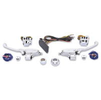 Performance Machine Chrome Contour Hand Control Set